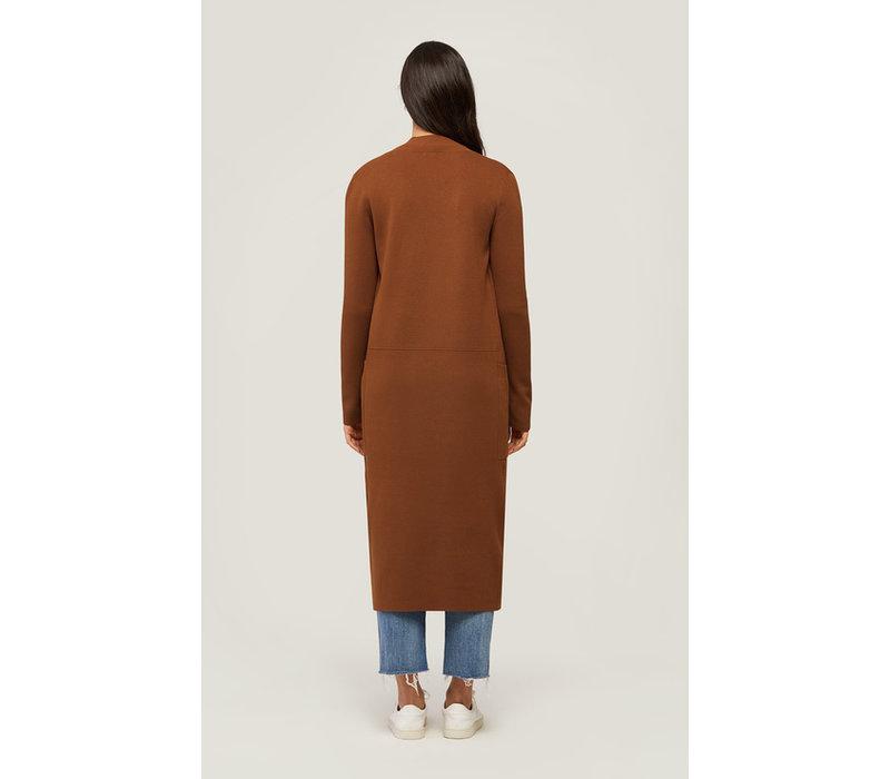 Annabella Long Knit Coatigan