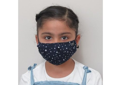 Papillon Kids Star Cotton Face Mask