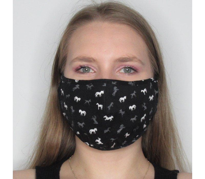 Horse Cotton Face Mask