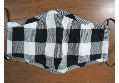 Papillon Kids Gingham Cotton Face Mask