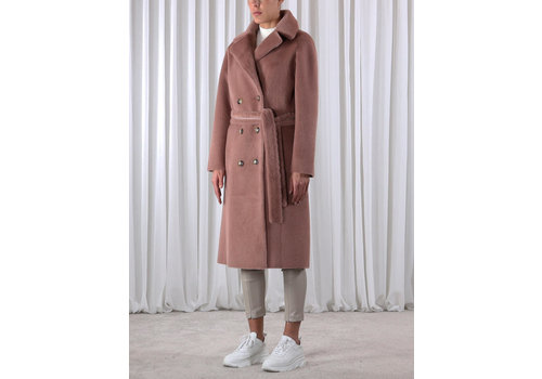 Rino & Pelle Pita Reversible Bonded Long Coat