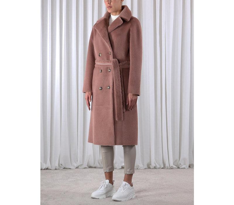 Pita Reversible Bonded Long Coat