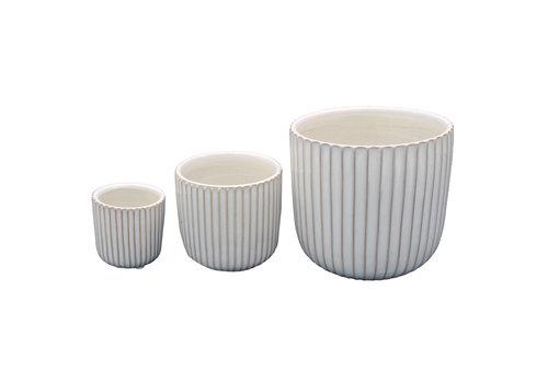Cathay Madelyn Ceramic Round Vase