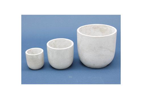 Cathay Loja Cement Round Vase
