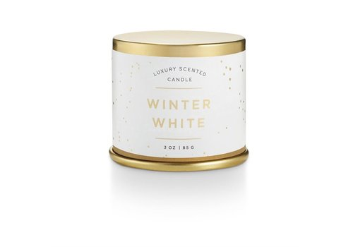 Illume Demi Tin Candle Winter White