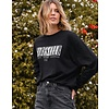Brunette The Label Babes Club Long Sleeve Boxy Tee