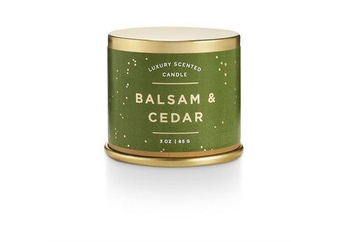 Illume Balsam & Cedar Demi Tin Candle