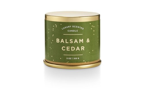 Illume Demi Tin Candle Balsam & Cedar