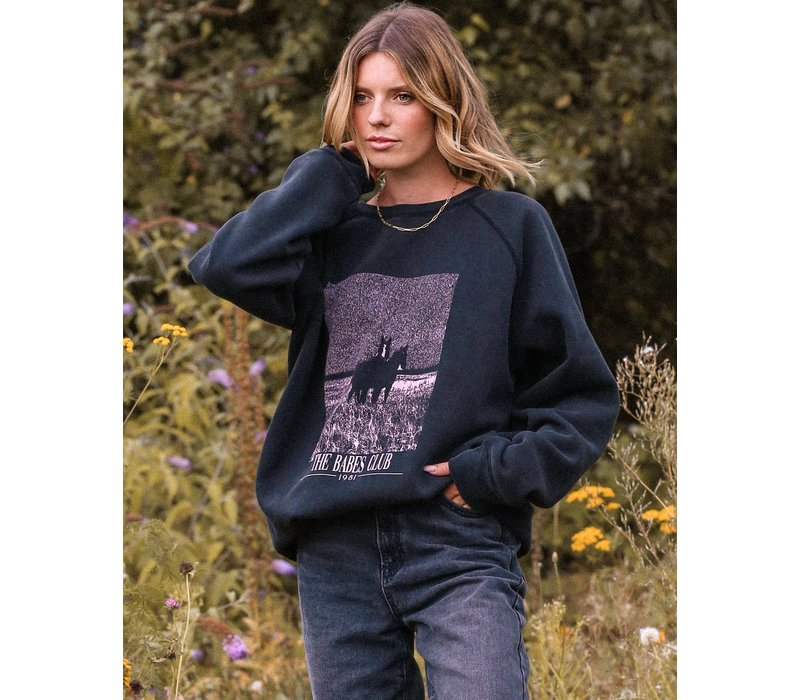 Equestrian Big Sister Sweatshirt
