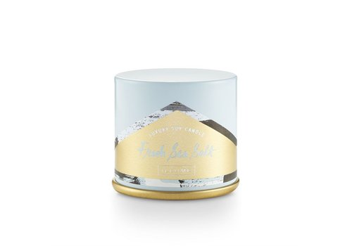 Illume Demi Vanity Tin Candle Fresh Sea Salt