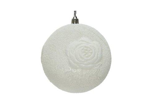 Kaemingk Lace Bauble White