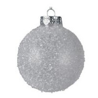 Frosted Bauble