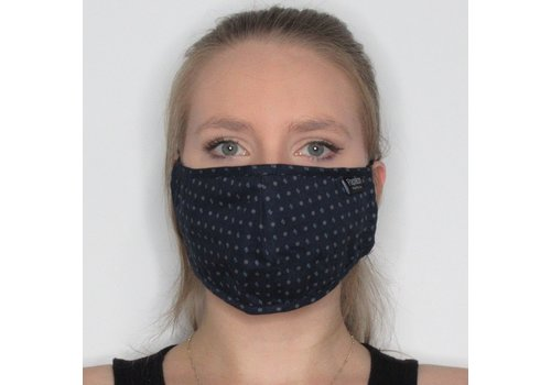 Papillon Geo Cotton Face Mask