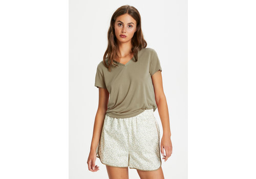 Soaked in Luxury Columbine V-Neck Top