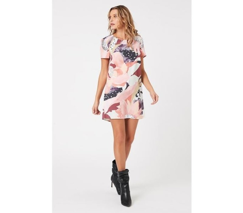 Set The Scene Tee Dress