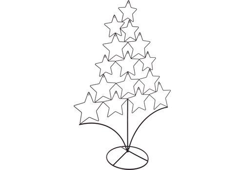 Koopman International Metal Christmas Tree Stand Black
