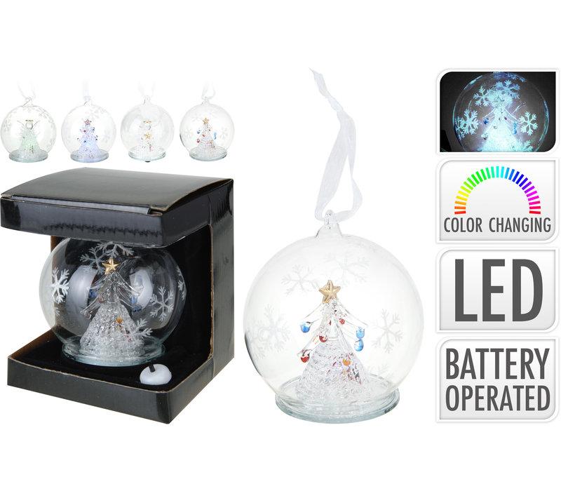 LED Glass Ball 10cm