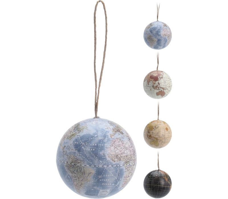 Globe Hanging Ornament