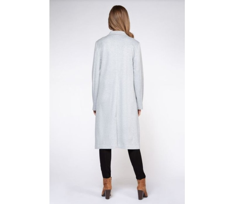 Mid Length Knit Blazer