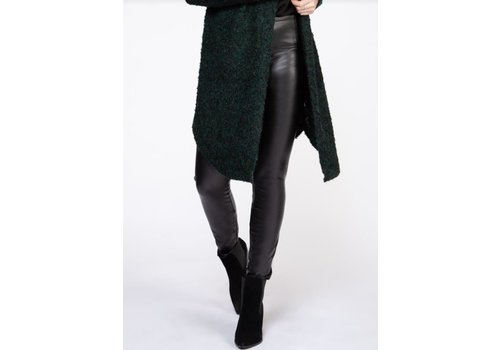 Dex High Waisted Faux Leather Leggings