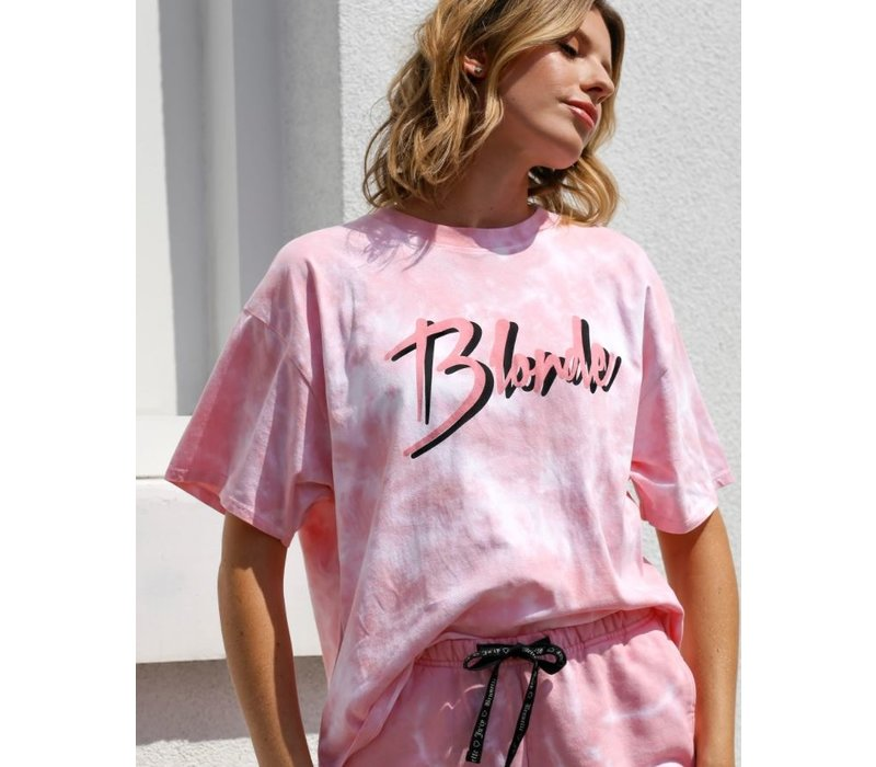 Blonde Juicy Boxy Tee