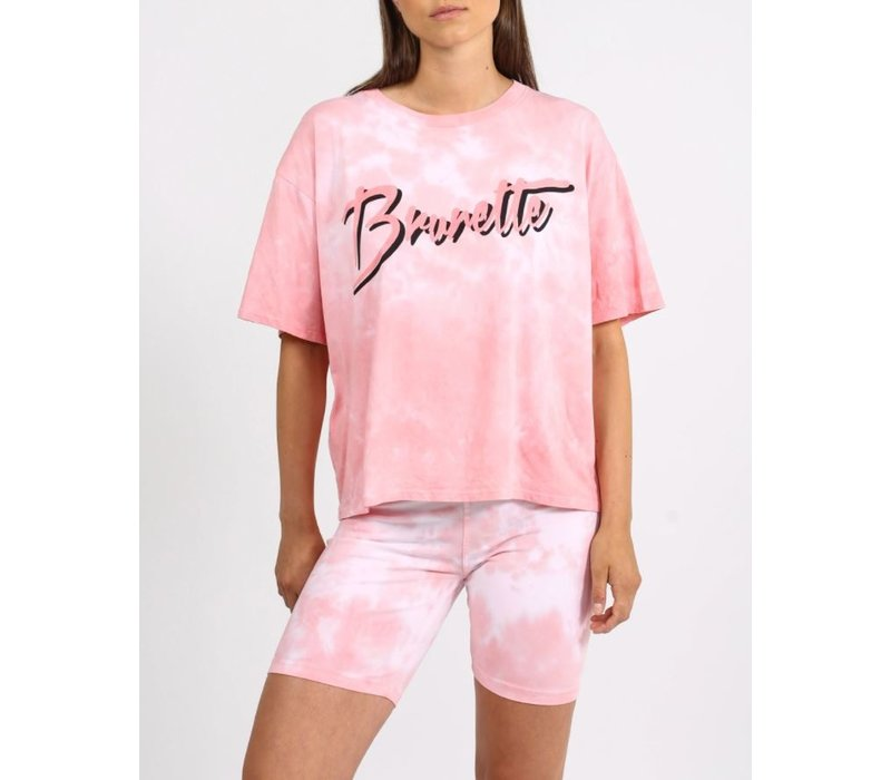 Brunette Juicy Boxy Tee