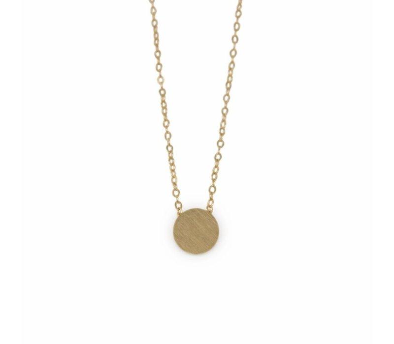 Dot Mini Metal Necklace