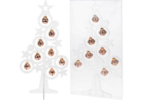 Koopman International Christmas Tree With Bells 39cm