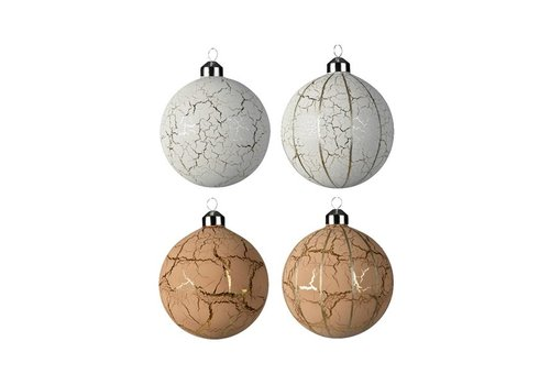 Kaemingk Cracked Finish Bauble
