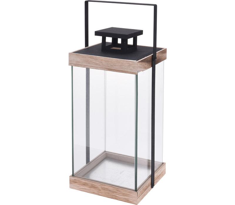 Metal Lantern Natural 36cm