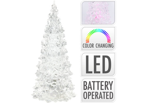 Koopman International LED Christmas Tree Acrylic Clear