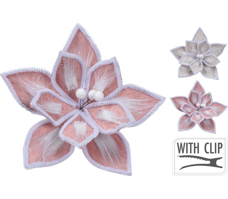 Flower On Clip