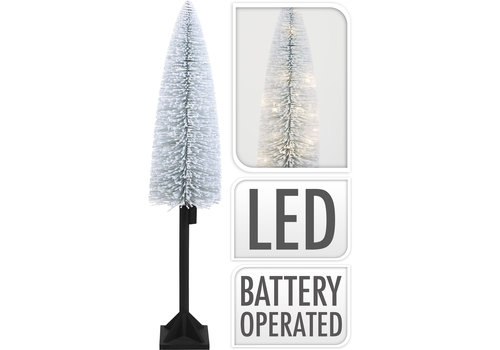 Koopman International LED Christmas Tree With Snow