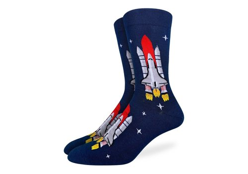 Good Luck Sock Men's Space Shuttle Socks