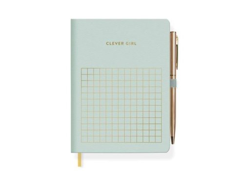 Clever Journal With Slim Gold Pen