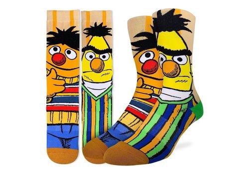 Good Luck Sock Men's Bert and Ernie Socks