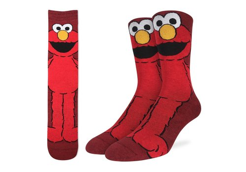Good Luck Sock Men's Elmo Socks