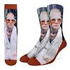 Good Luck Sock Men's Elton John in White Jacket Socks