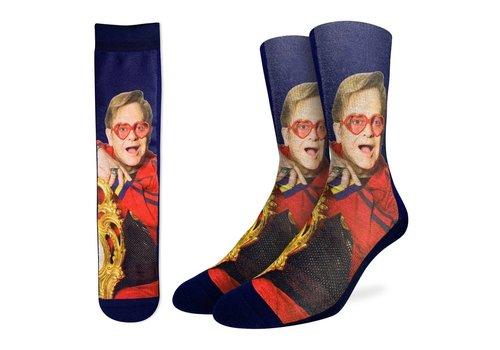 Good Luck Sock Men's Elton John on Chair Socks