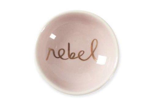 Rebel Round Trinket Dish Tray