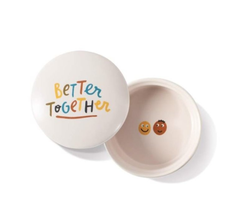 Better Together Round Trinket Box