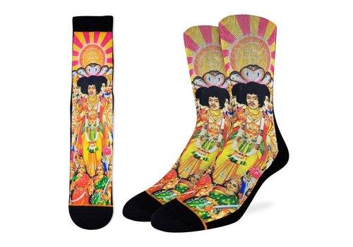 Good Luck Sock Men's Jimi Hendrix Axis: Bold as Love Socks