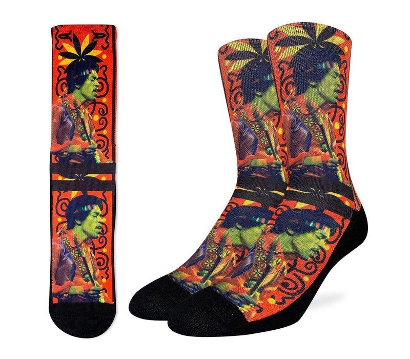 Men's Jimi Hendrix Guitar Strap Socks