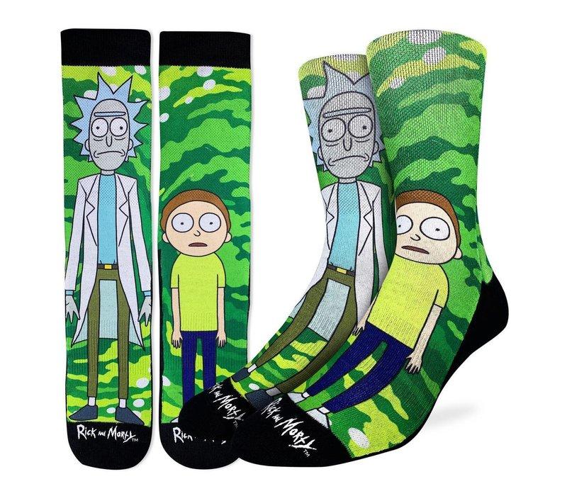 Men's Rick and Morty Socks
