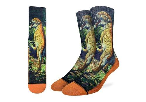 Good Luck Sock Men's Saber-toothed Cat Socks