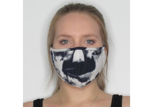 Papillon Watercolour Cotton Face Mask