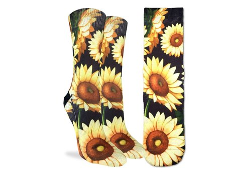 Good Luck Sock Women's Sunflowers Socks