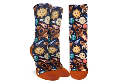 Good Luck Sock Women's Stars and Steampunk Socks