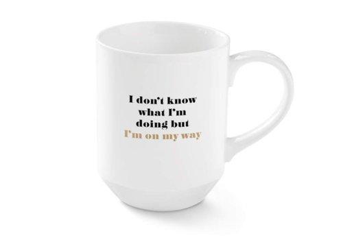 On My Way NY Mug