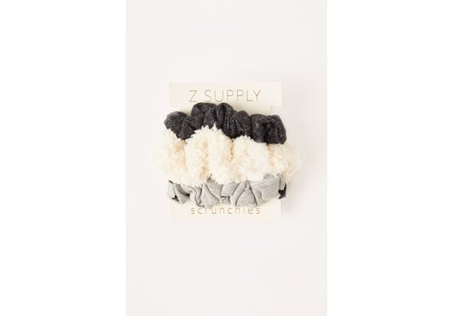 Z Supply Scrunchie Heather Grey